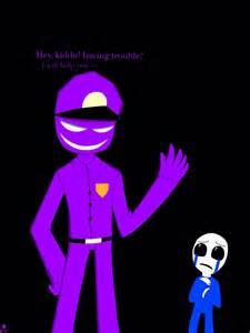 The purple man by ashlycreaturgirl on deviantart