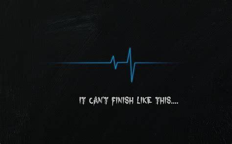 hd wallpaper white text  black background sad pulse