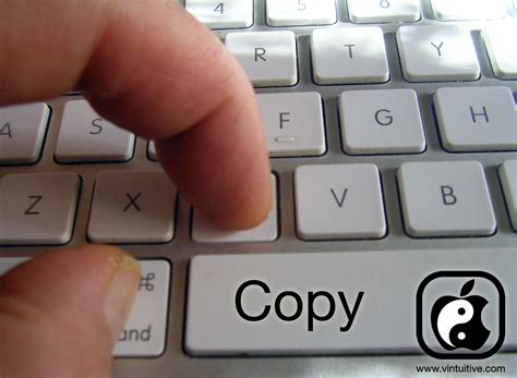 Copy And Paste keyboard kung fu cut copy paste vintuitive