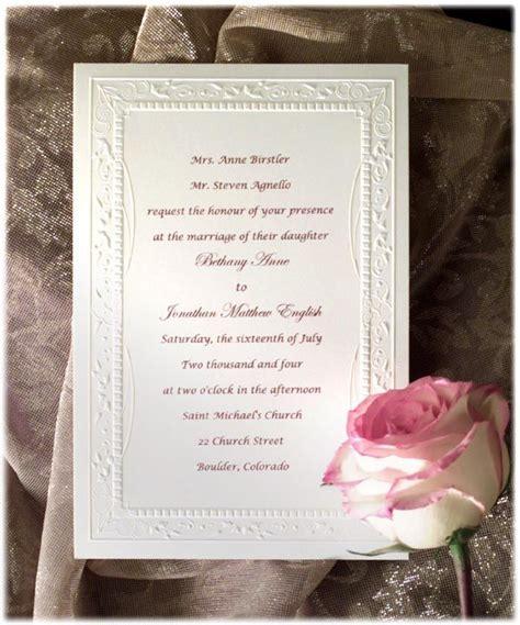 how to write wedding invitation wording formal wedding invitation wording fotolip rich image