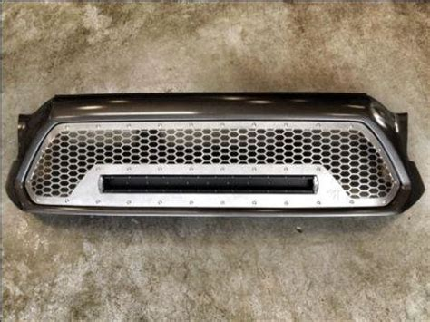 tacoma grill light bar 2012 grill insert with led light bar tacoma