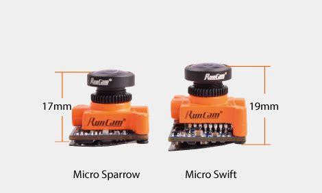 Runcam Sparrow Micro 16 9 Cmos Fpv 2 1mm Wdr 700 Tvl runcam micro sparrow fpvdj