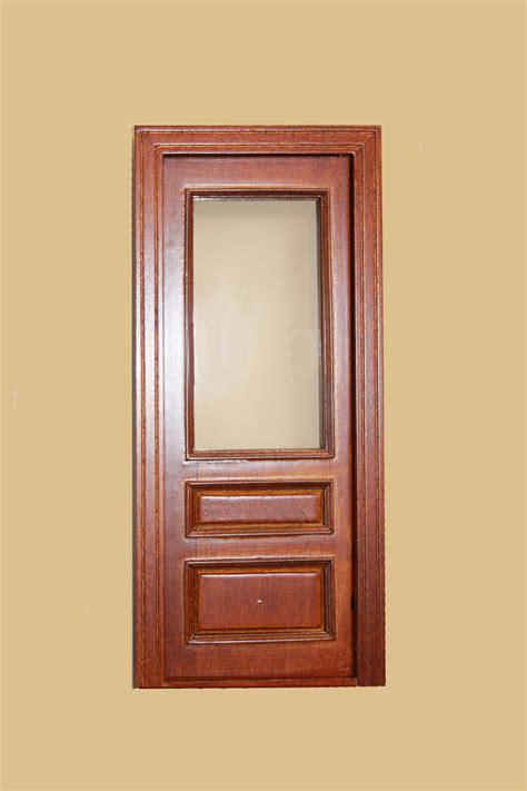 Single Door by Single Door With Glass Walnut 846nwn