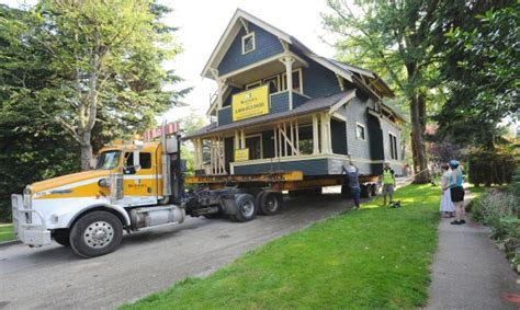 house movers vancouver island 1915 era home makes incredible journey from dunbar to vancouver island