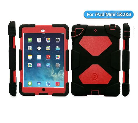 Mini 2 3 Griffin Heavy Duty Waterproof Casing Cover Bumper shockproof heavy duty for 2 3 4 mini air rubber