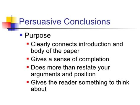 how to write a conclusion to a paper persuasive essay conclusions ospi