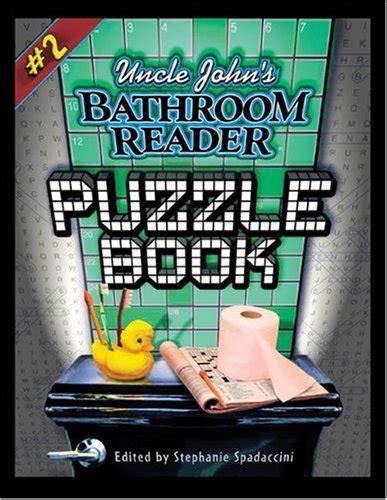 s bathroom reader puzzle books book series