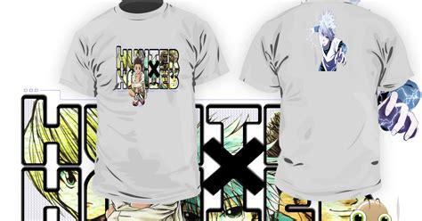 Kaos Anime All kaos anime x kode h x h 01 design shop distro anime dan style