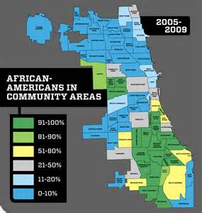 Chicago Segregation Map separate unequal and ignored politics chicago reader