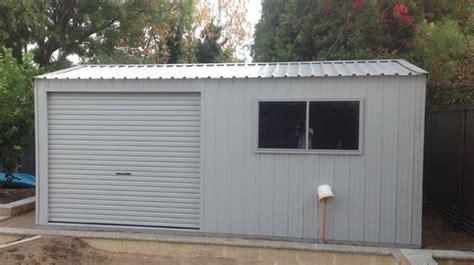 Up Garage Site Aviaries Bibra Lake Wa Custom Sheds Perth