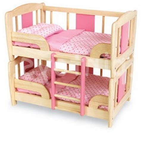 doll bunk bed doll bunk beds 18in doll bunk beds name img0935jpg views