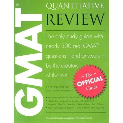 Costo Mba En Canada by The Official Guide For Gmat Quantitative Review