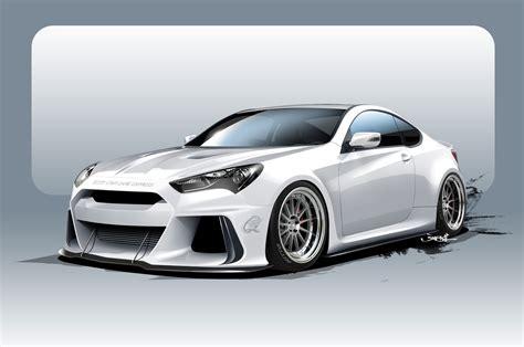 ark performance building 500 hp hyundai genesis coupe for sema