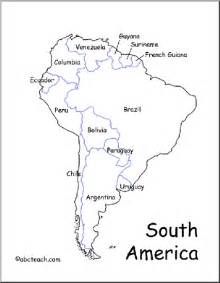 labeled map of and south america map south america abcteach