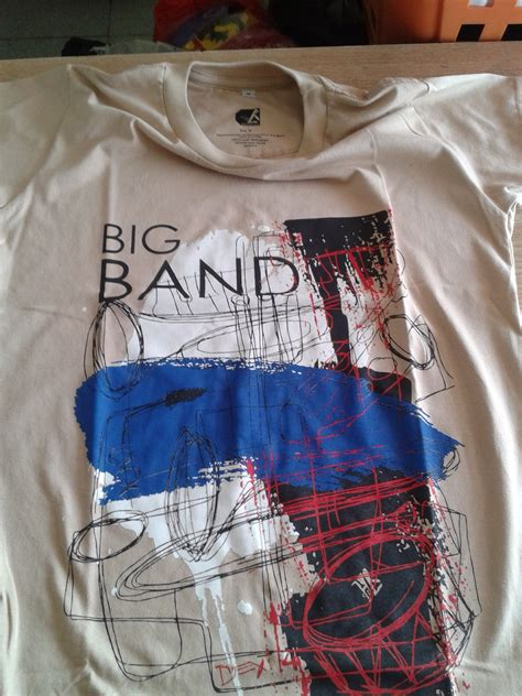 Kaos Bigband oktober 2014 dexie punya