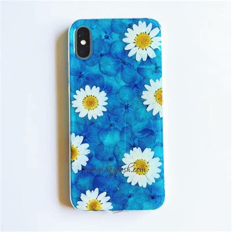 blue flower phone cases  iphone xr xs max