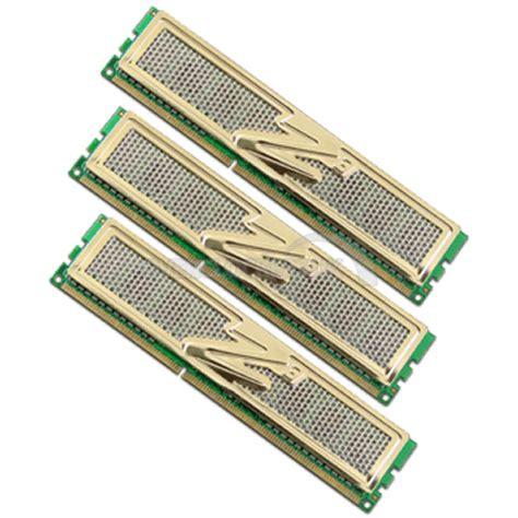 Ram 6gb Ddr3 ocz gold 6gb 3x2gb ddr3 pc3 12800c8 1600mhz channel ocuk