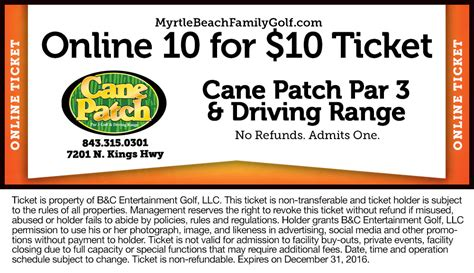 printable restaurant coupons for myrtle beach sc download cane patch golf myrtle beach sc dansoftware