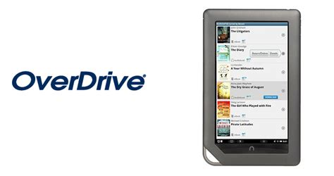 overdrive app android overdrive app lets nook owners borrow ebooks and mp3 audiobooks