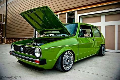 green volkswagen golf green vw golf mk1 i love gti pinterest mk1 golf and