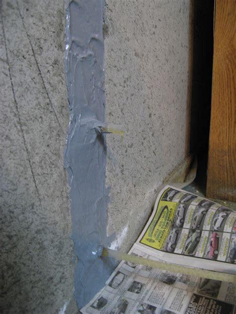 concrete basement wall repair kits stop leaks