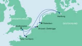 aidaprima neue route aidaperla metropolen route ab hamburg