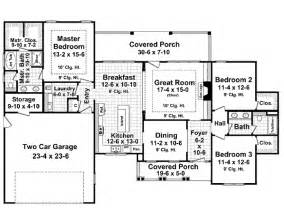 square floor plans for homes craftsman style house plan 3 beds 2 baths 1800 sq ft plan 21 279