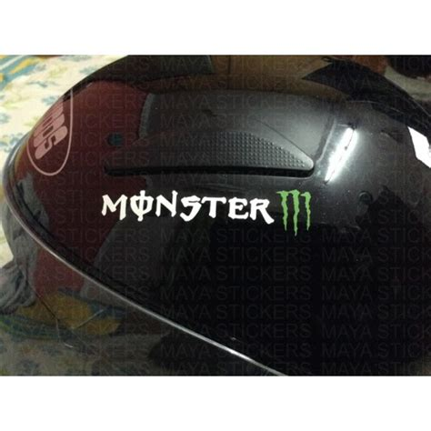 Monster Energy Sticker India by Pair Of 2 Monster Energy Sticker Buy Online In India