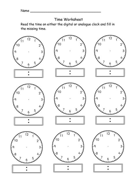 1000 ideas about blank clock on pinterest telling time