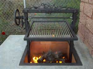 Firepit And Grill Santa Grills Grilling And Barbecue Style Search And Design