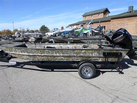 war eagle boats banded edition war eagle 754 boats for sale
