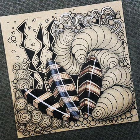 zentangle pattern meer meer dan 1000 afbeeldingen over a zentangle op pinterest