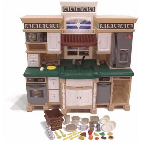 Step 2 Lifestyle Kitchen by Step 2 174 Lifestyle Deluxe Kitchen 172375 Toys At