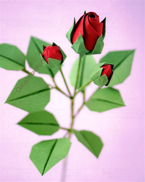 Origami Roses With Stems - origami origami jo nakashima origami with stem