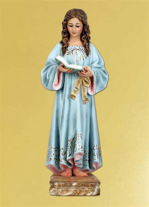 imagenes virgen maria niña virgen ni 209 a virgen mar 237 a estatuaria religiosa