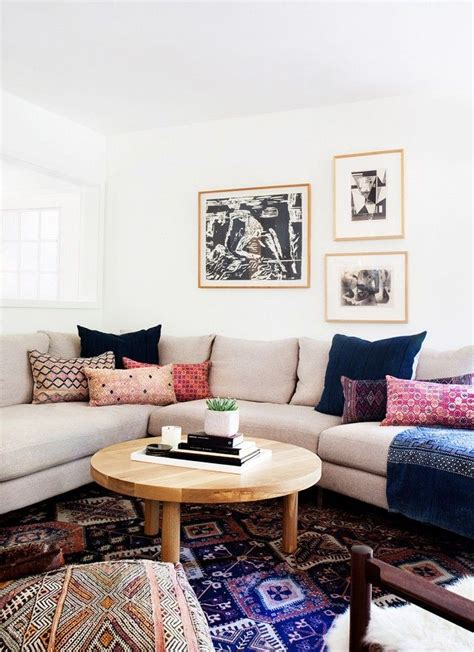 eclectic living room decor living room in a california eclectic home love this