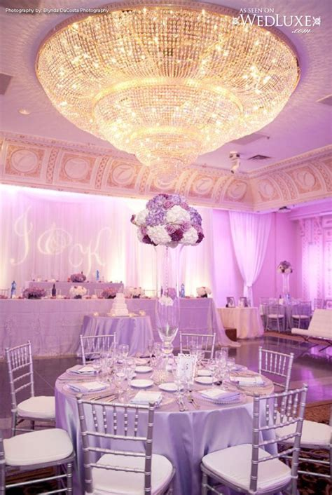 Lavender And Silver Wedding Decorations