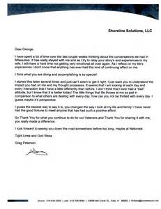 how s profound impact letter to a volunteer heroes on