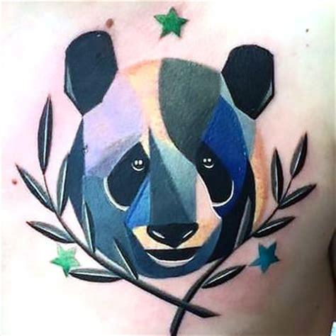 panda tattoo on chest 33 panda tattoo ideas