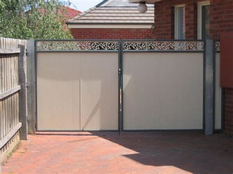 Modern House Entrance by Gate Design Ideas Get Inspired By Photos Of Gates From