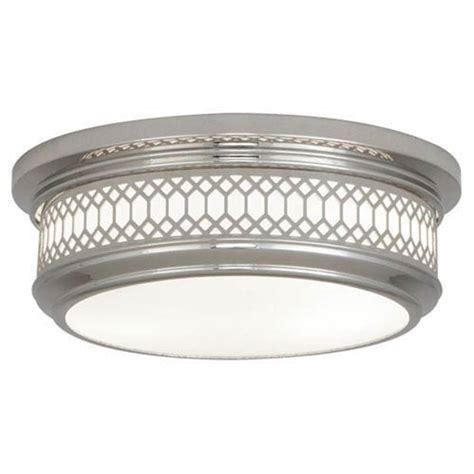 Robert Williamsburg Tucker Pendant Nickel Robert Williamsburg Tucker Polished Nickel Two Light Flush Mount On Sale