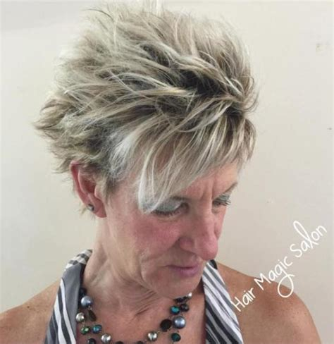 short choppy hairstyles for women over 50 80 classy and simple short hairstyles for women over 50