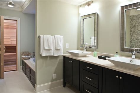 dark cabinets bathroom beautiful bathroom what color are the walls are the