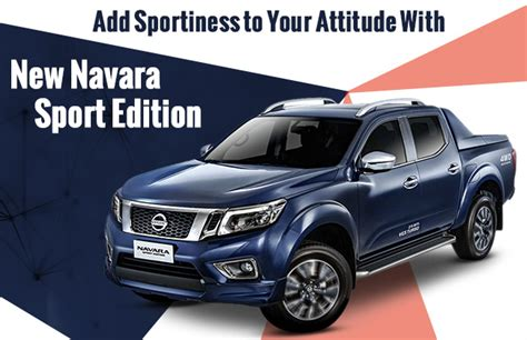 nissan navara 2017 sports edition nissan navara sport edition 2016 launched own it for php