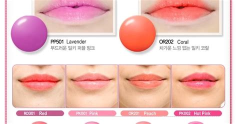 Etude Fresh Cherry Tint Di Counter review fresh cherry tint etude house pink pk002