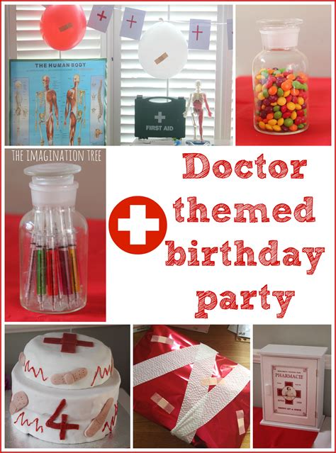 Themed Birthday Decorations doctor themed birthday ideas and the