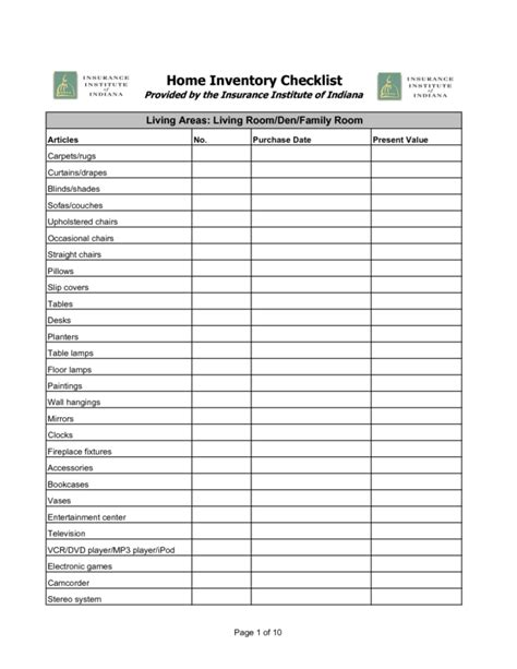 business inventory template inventory checklist template helloalive