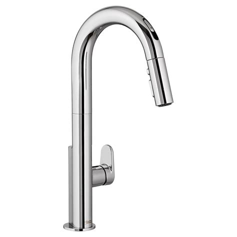 free faucet kitchen beale pull kitchen faucet with selectronic free technology american standard