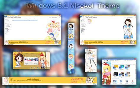 themes for windows 8 1 anime visual styles 8 theme anime win 8 8 1 nisekoi by hoangtush