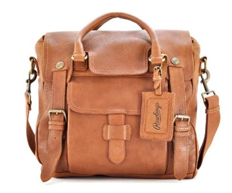 rawlings leather messenger satchel prices information